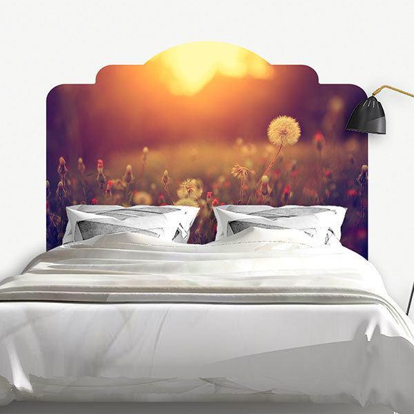 sticker mural tête de lit nature | webstickersmuraux
