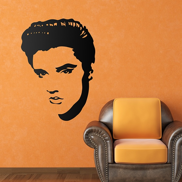 Stickers muraux: Elvis Presley Portrait