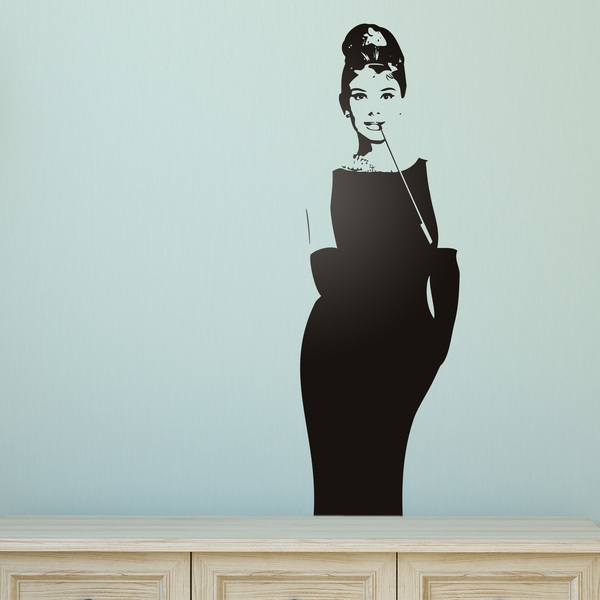 Stickers muraux: Audrey Classic