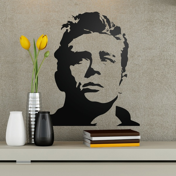 Stickers muraux: James Dean