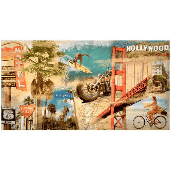 Poster xxl: Collage California