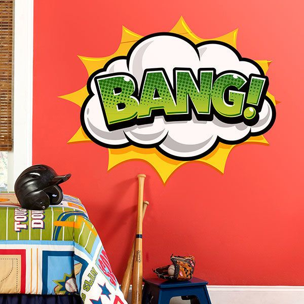 Stickers muraux: Comic BANG!