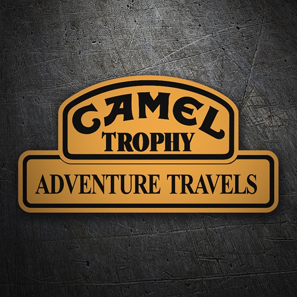 Autocollants: Camel Adventure Travels