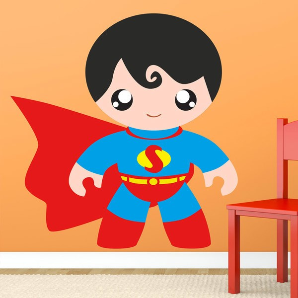Stickers pour enfants: Super Hero