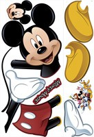 Stickers pour enfants: Mickey Mouse sticker mural 3