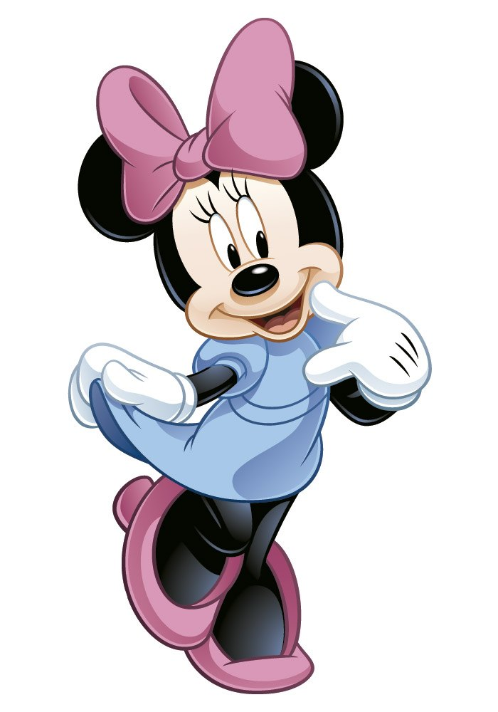 Stickers pour enfants: Minnie Mouse géant