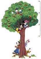 Stickers pour enfants: Sticker Toise Arbre Géant Mickey et ses amis 4
