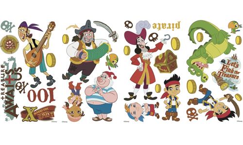 Stickers pour enfants: Jake et les Pirates du Pays imaginaire