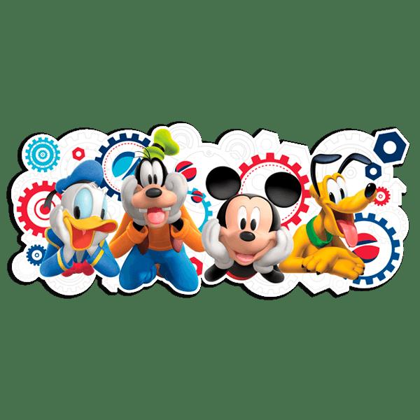 Stickers pour enfants: Mickey et ses amis - La Maison de Mickey