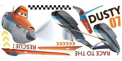Stickers pour enfants: Géant Dusty Sticker Avions Les Pompiers du ciel 3