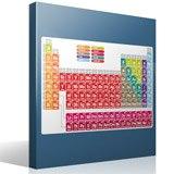 Stickers muraux: Tableau périodique des éléments 4