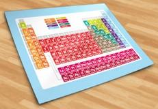 Stickers muraux: Tableau périodique des éléments 5