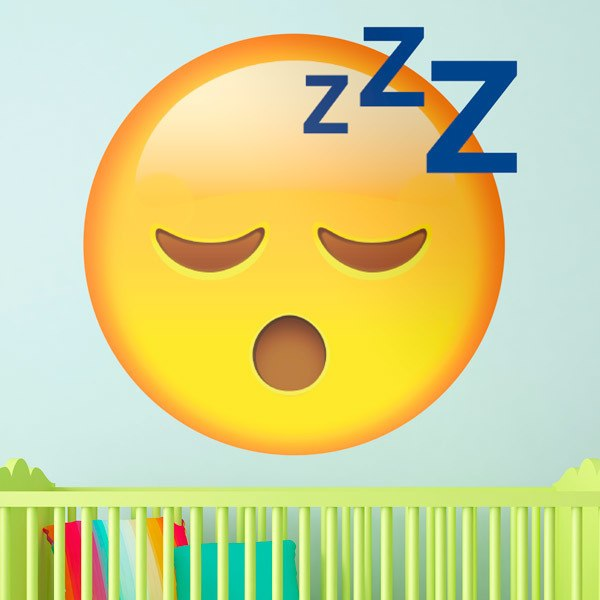 Stickers muraux: Visage Sleeping