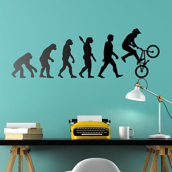 Stickers muraux: BMX Evolution