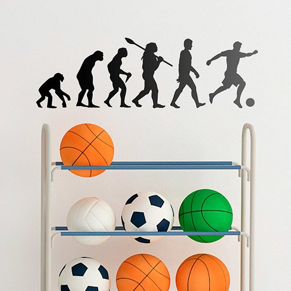 Stickers muraux: Football évolution