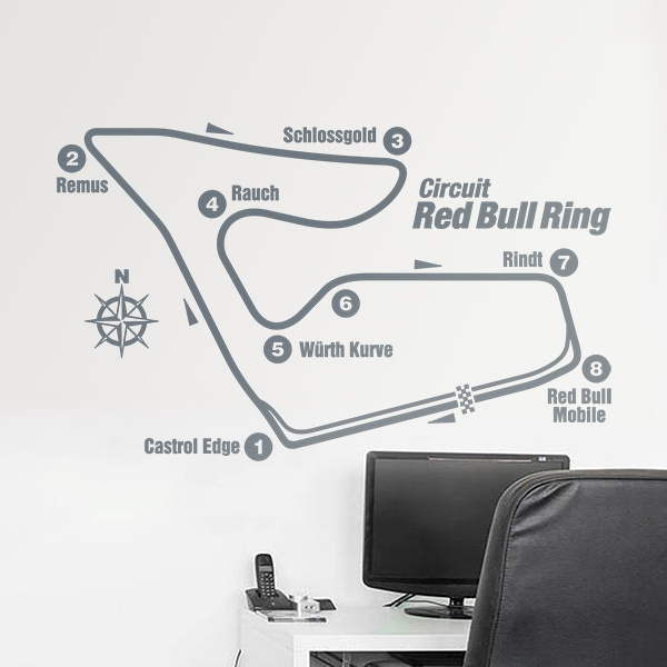 Stickers muraux: Circuit Red Bull Ring