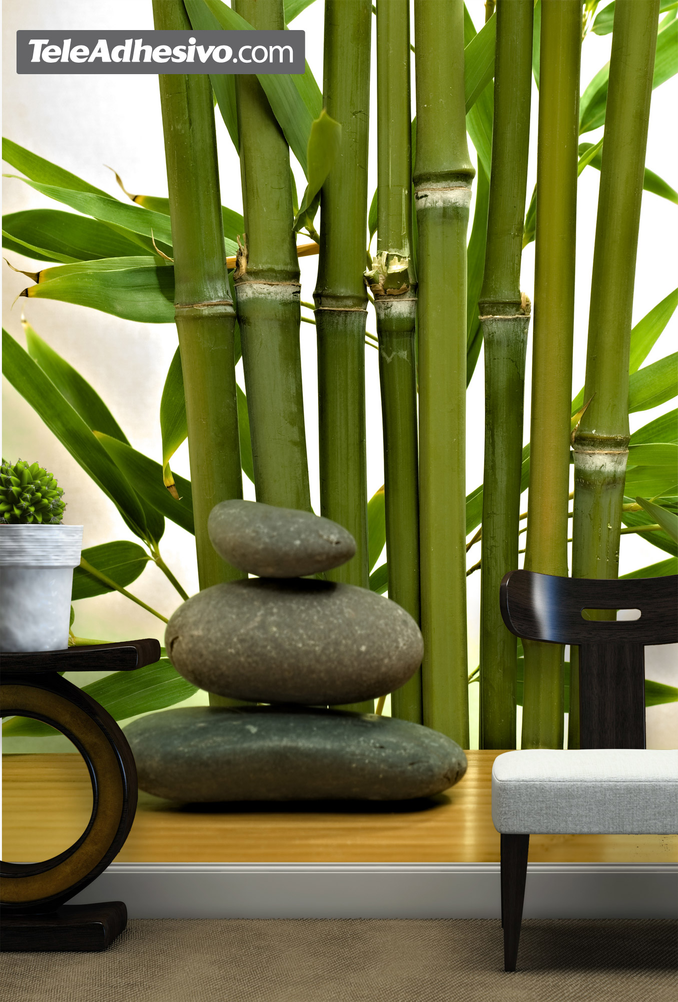 Salon zen bambou for Porte de champerret salon zen