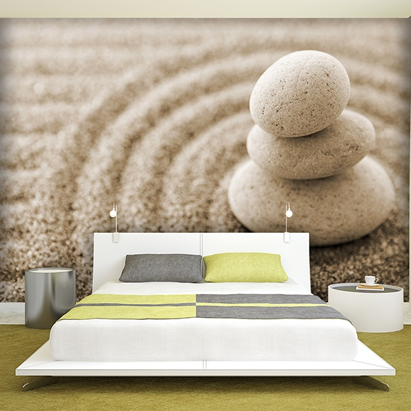 poster xxl zen garden. Black Bedroom Furniture Sets. Home Design Ideas