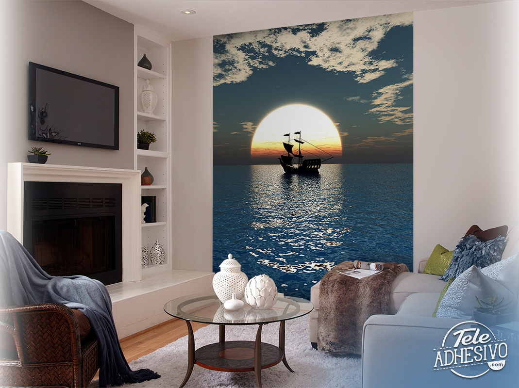 mer et des bateaux. Black Bedroom Furniture Sets. Home Design Ideas