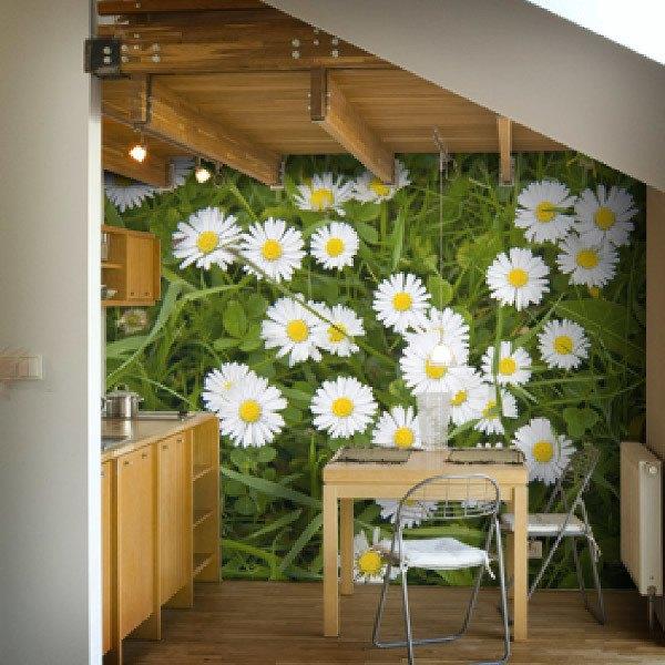 Papiers Peint Vinyle Florales