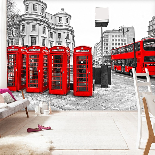 Poster xxl: London in Red