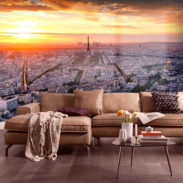Poster xxl: Paris at sunset