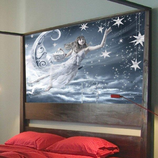 poster xxl f e des r ves. Black Bedroom Furniture Sets. Home Design Ideas