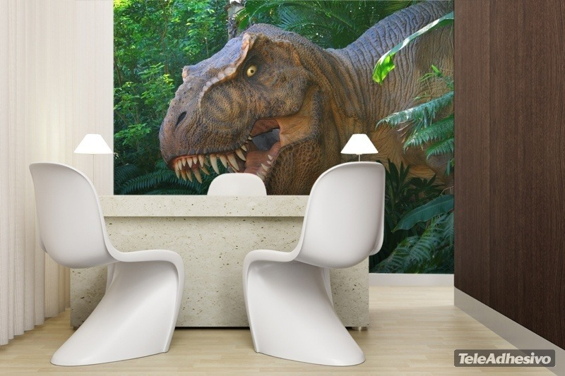 tyrannosaurus rex photomural. Black Bedroom Furniture Sets. Home Design Ideas