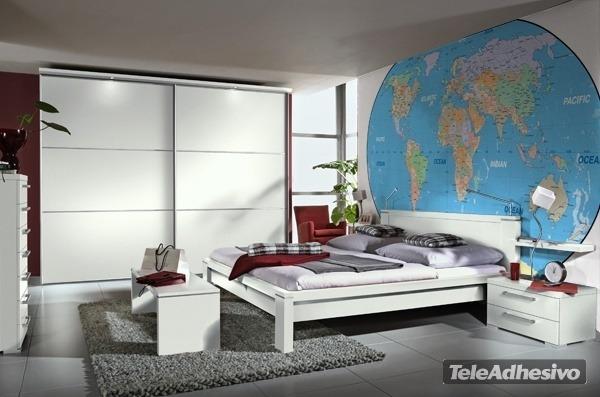 carte physique et politique du monde. Black Bedroom Furniture Sets. Home Design Ideas