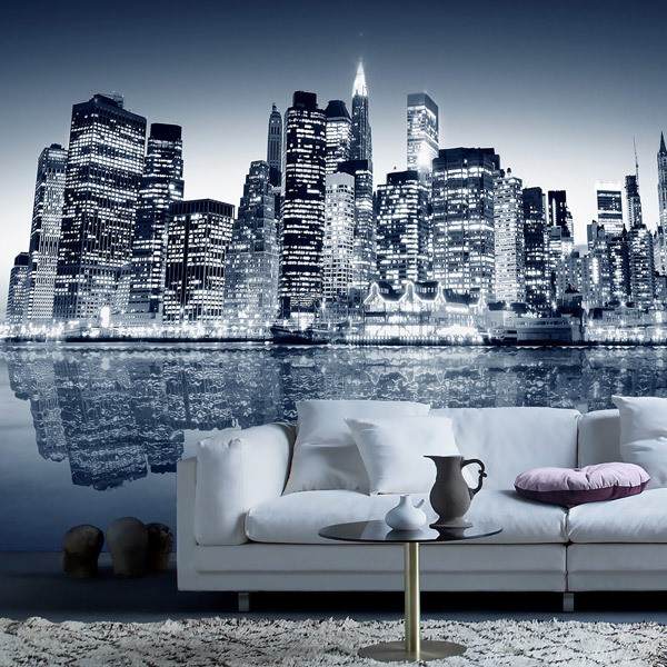 Poster xxl: Blue Manhattan