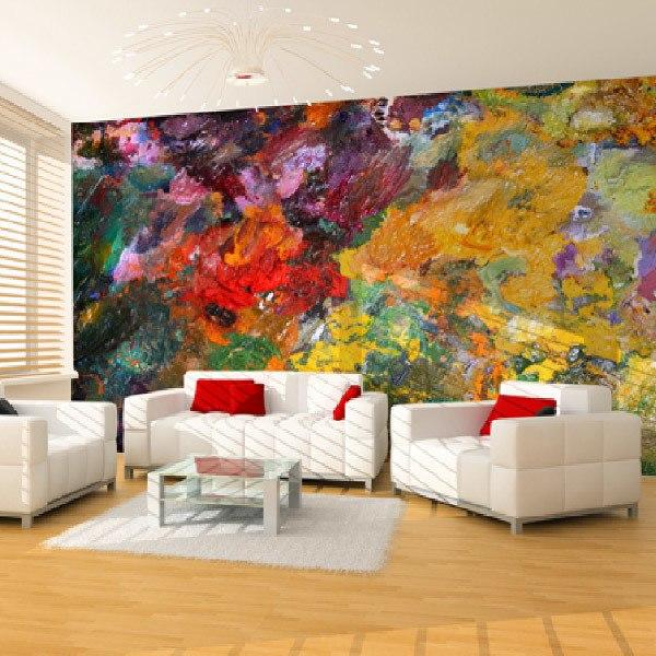papier peint vinyle color. Black Bedroom Furniture Sets. Home Design Ideas