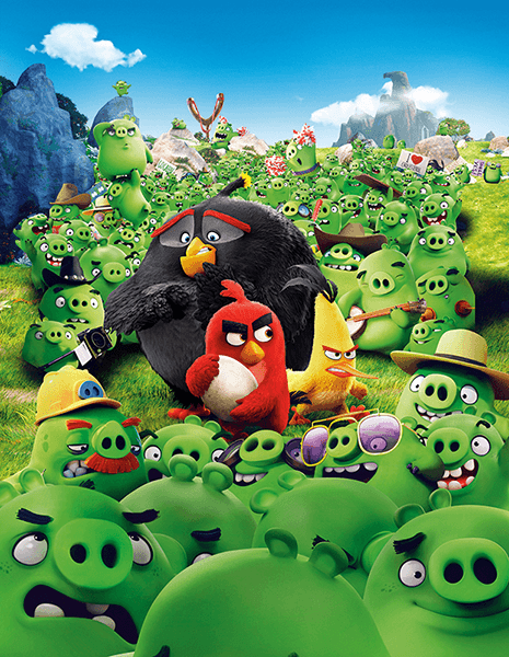 Poster xxl: Angry Birds Montain