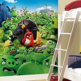 Poster xxl: Angry Birds Montain 2