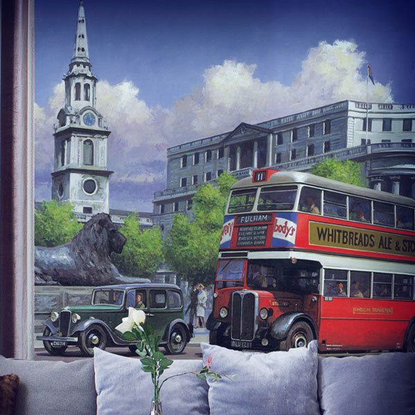 Papier peint vinyle: London Bus