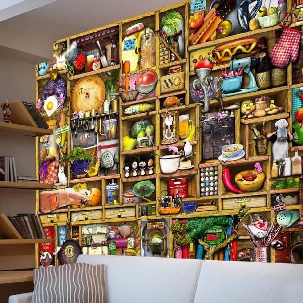 poster xxl poterie. Black Bedroom Furniture Sets. Home Design Ideas