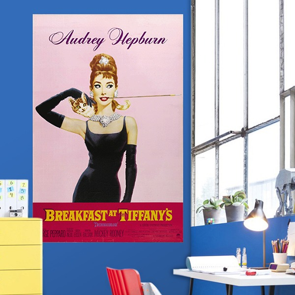 Papier peint vinyle: Breakfast at Tiffany´s