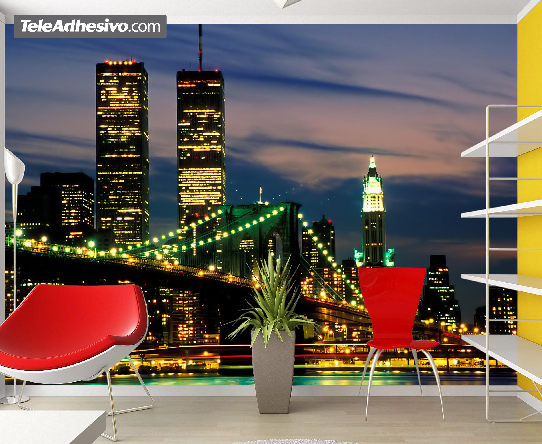 poster xxl new york wtc. Black Bedroom Furniture Sets. Home Design Ideas