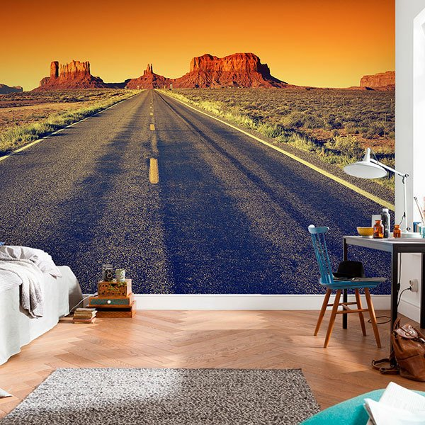 Poster xxl: Route vers le Grand Canyon 0