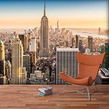 Poster xxl: Downtown Manhattan at sunset 2