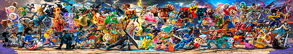 Poster xxl: Super Smash Bros Ultimate