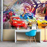 Poster xxl: Course de Cars, Disney 2