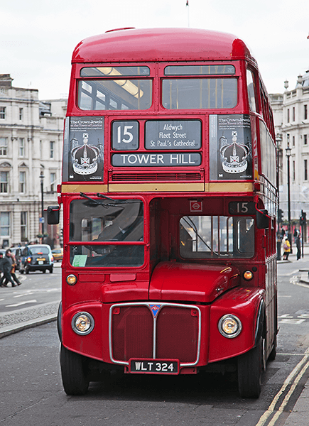 Poster xxl: Routemaster Bus - Tower Hill