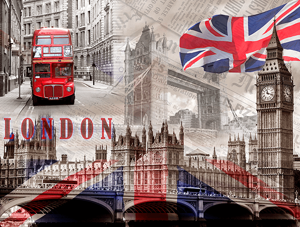 Poster Xxl Collage Westminster Palace Webstickersmuraux Com
