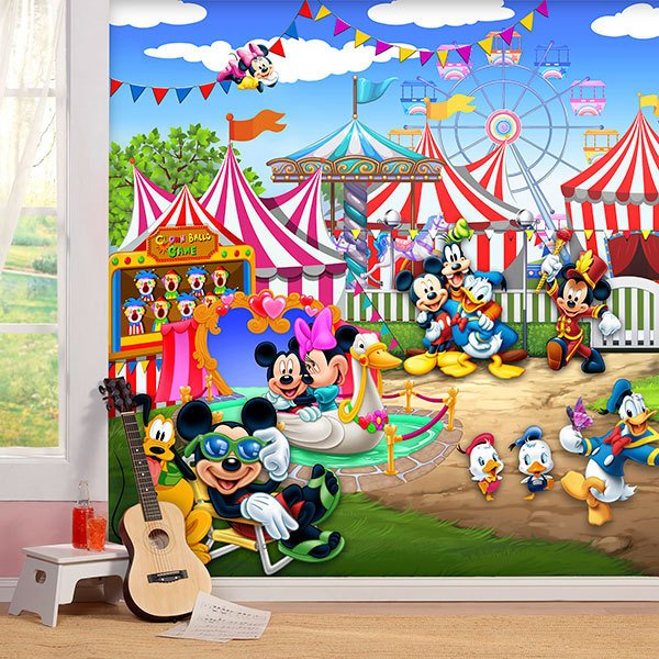 Poster xxl: Parc d'attractions Disney