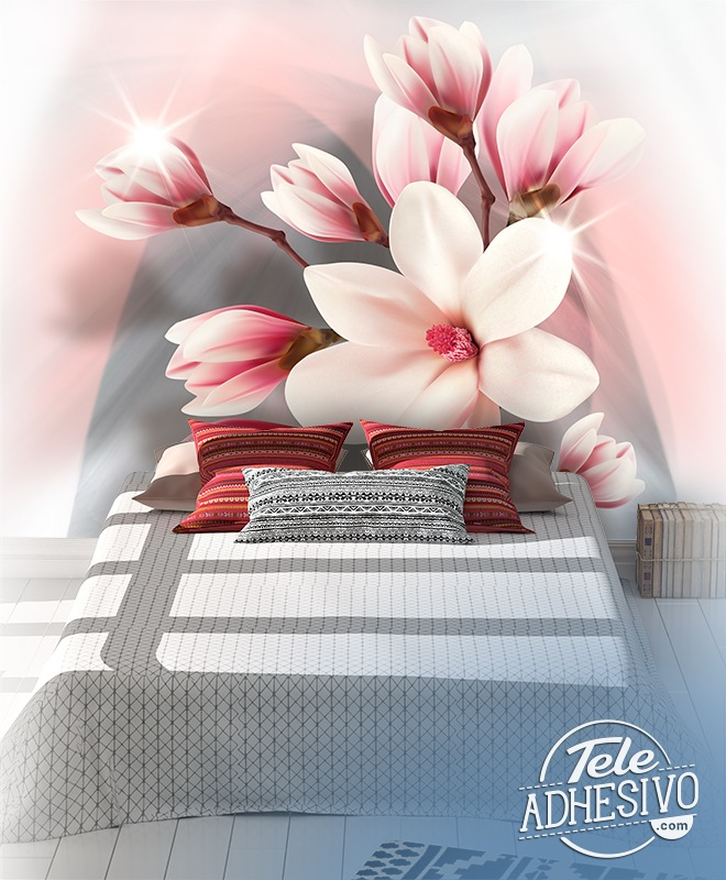 Poster xxl: Magnolias brillants