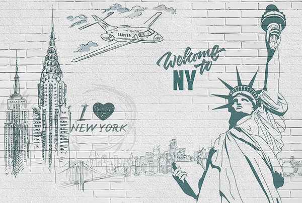 Poster xxl: I Love & Welcome to NY