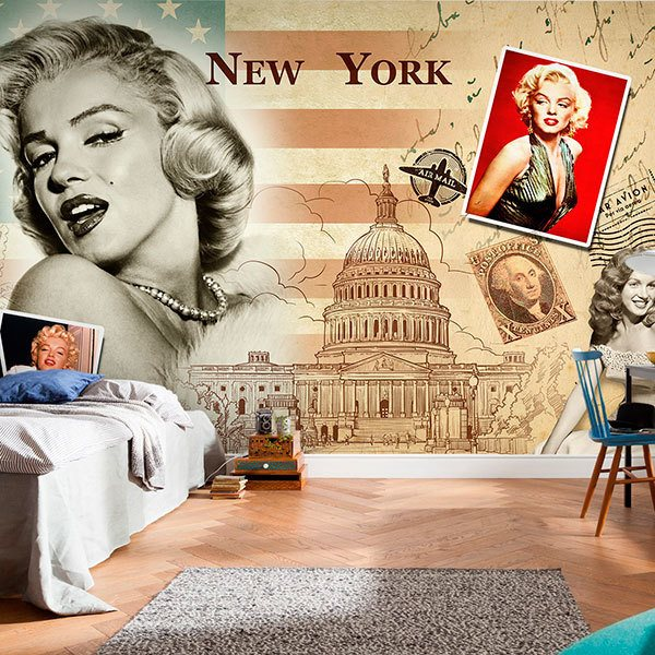 Poster xxl: Collage Marilyn Monroe 0