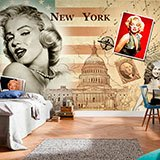 Poster xxl: Collage Marilyn Monroe 2