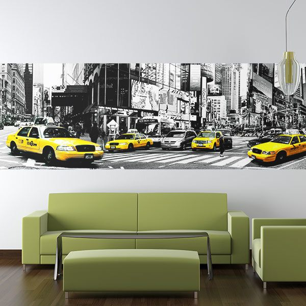 Poster xxl: Taxis à New York