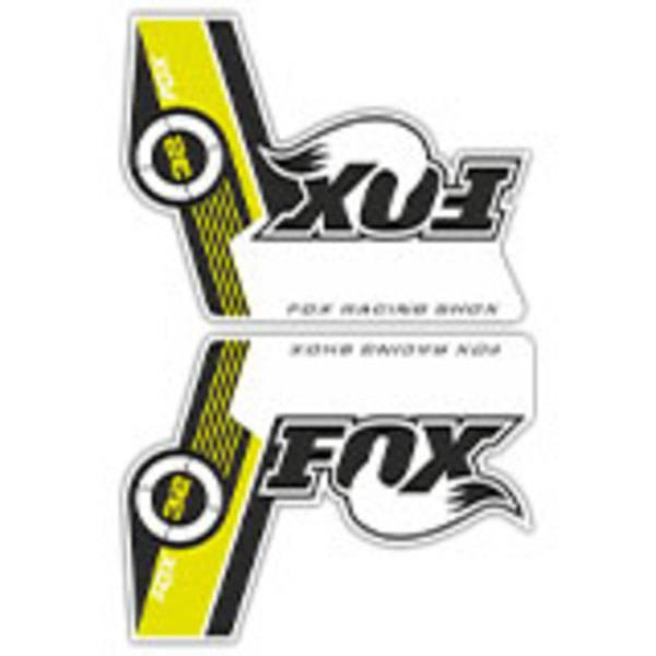 Autocollants: Kit de fourche à vélo Fox Racing Shox